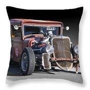 1933 Ford Pu Rat Rod II Throw Pillow