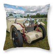 1933 Mg Sports Car Throw Pillow