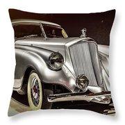 1933 Pierce-arrow Silver Arrow Throw Pillow