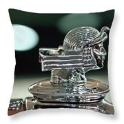 1933 Stutz Dv-32 Dual Cowl Phaeton Hood Ornament Throw Pillow