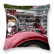 1934 Chevy Truck Motor Throw Pillow