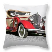 1934 Chrysler Roadster Throw Pillow