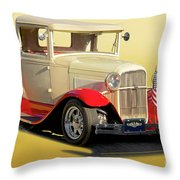 1934 Ford '49'er' Pickup Throw Pillow