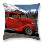1934 Ford  Throw Pillow