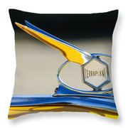 1934 Terraplane Hood Ornament Throw Pillow