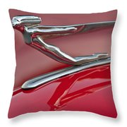 1935 Auburn Hood Ornament 2 Throw Pillow