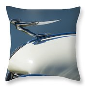 1935 Auburn Hood Ornament 3 Throw Pillow