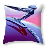 1935 Auburn Hood Ornament 4 Throw Pillow