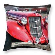 1935 Auburn Speedster 6870 Throw Pillow