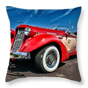 1935 Auburn Speedster 6895 Throw Pillow