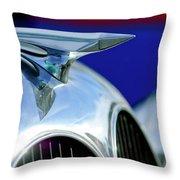 1935 Brewster Hood Ornament Throw Pillow by Jill Reger