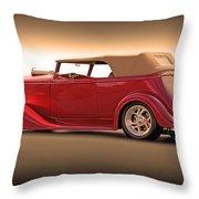 1935 Chevrolet Phaeton II  Throw Pillow