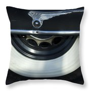 1935 Chrysler Tire Throw Pillow