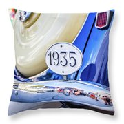 1935 Colour Throw Pillow by Gary Gillette