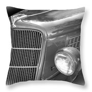 1935 Ford Sedan Grill Throw Pillow