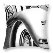 1935 Lasalle Abstract Throw Pillow