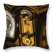 1935 Packard Console Throw Pillow
