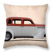 1935 Plymouth Throw Pillow