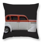 1935 Plymouth Sedan Throw Pillow