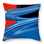 1936 Chevrolet Hood Ornament 2 Throw Pillow