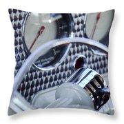 1936 Cord Phaeton Gear Shift Throw Pillow