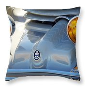 1936 Cord Phaeton Headlights Throw Pillow