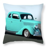 1936 Ford Coupe 1 Throw Pillow