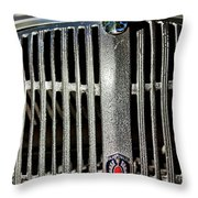 1936 Oldsmobile Grille Throw Pillow