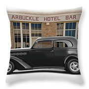 1936 Plymouth Business Coupe II Throw Pillow