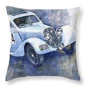 1937 Aero 750 Sport Coupe Throw Pillow