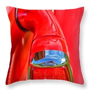 1937 Chevy Coupe Tail Light Throw Pillow