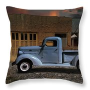 1937 Chevy Pickup Truck Throw Pillow