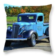 1937 Chevy Truck Throw Pillow