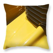 1937 Cord 812 Phaeton Hood Ornament Throw Pillow