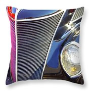 1937 Ford 2 Door Sedan Throw Pillow