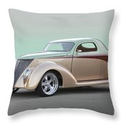 1937 Ford 'high End' Coupe I Throw Pillow