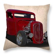 1937 Ford Truck Throw Pillow