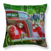 1937 Hudson  Throw Pillow