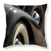 1937 Lincoln K Brunn Abstract Throw Pillow