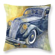 1937 Skoda Popular Sport Monte Carlo Throw Pillow
