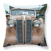 1938 Buick 2087 Throw Pillow