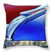1938 Chevrolet Hood Ornament 2 Throw Pillow