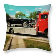 1938 Studebaker Cab Over Throw Pillow