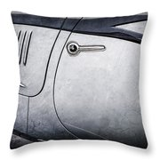 1938 Talbot-lago 150c Ss Figoni And Falaschi Cabriolet Side Door Handle -1511ac Throw Pillow