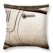 1938 Talbot-lago 150c Ss Figoni And Falaschi Cabriolet Side Door Handle -1511s Throw Pillow