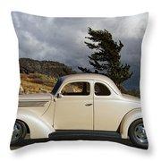 1939 Chevrolet Coupe Throw Pillow