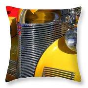 1939 Chevy Throw Pillow