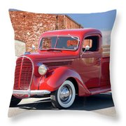 1939 Ford 'stake Bed' Pickup Truck I Throw Pillow