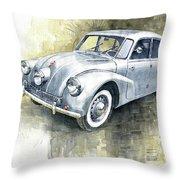 1939 Tatra T87  Throw Pillow
