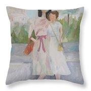 1939 Washington Trip Throw Pillow